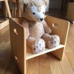 子どもの姿勢を考えた、1歳の娘のための最初の椅子選び