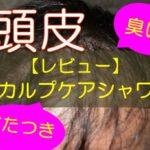 【レビュー】頭皮に良いシャワーヘッド・スカルプケアシャワー!使用後のべたつきと臭いは?